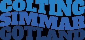Colting simmar Gotland logotyp