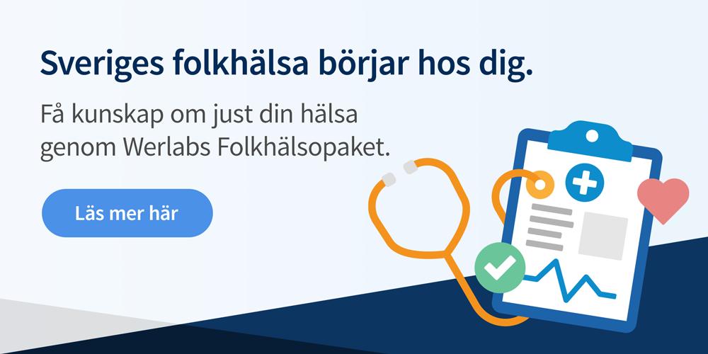 Sveriges folkhälsa börjar hos dig.