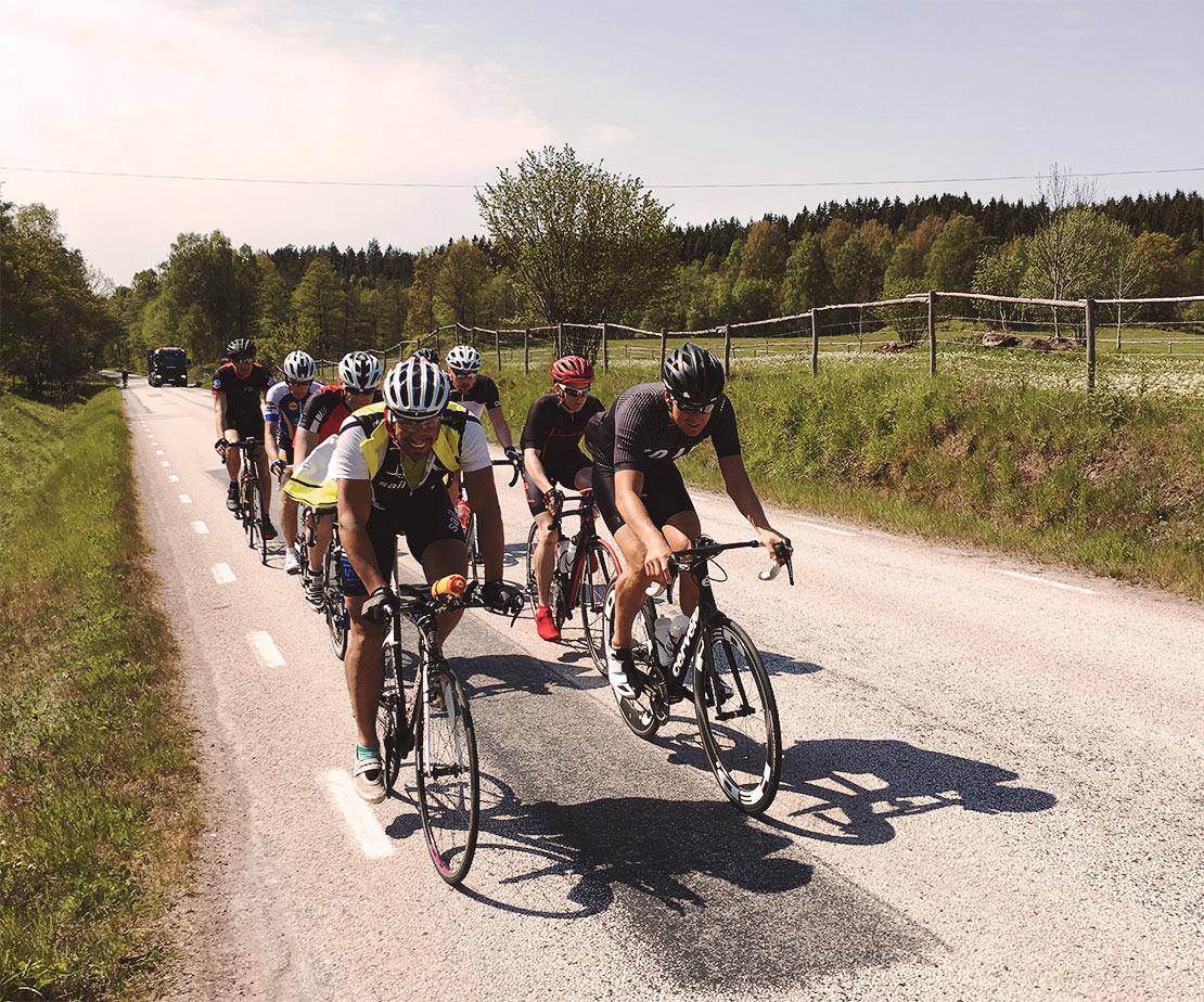 Coltingborssén cykeltour genom Sverige